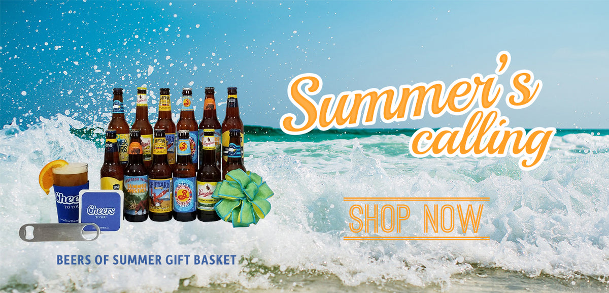 Beer Gift Basket for Summer