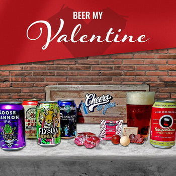 Valentine's Day Beer Basket