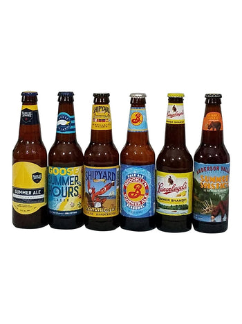 Beer Gift Basket of Summer