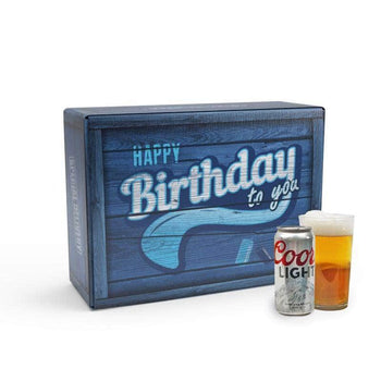 Coors Light Birthday Gift