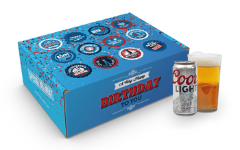 Coors Light Birthday, Coors Light Gift Basket, Coors Light Gift Baskets
