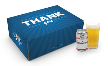 Thank You Gifts for Men, Budweiser Gifts, Thank You Beer