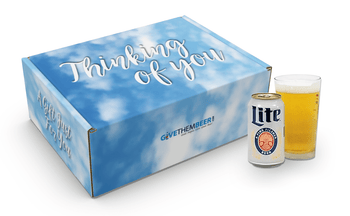 Miller Lite Gifts,Thinking of You Gifts, Thinking of You Gifts for Him