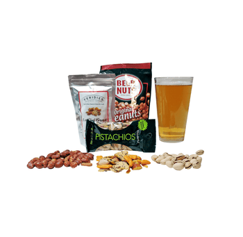 Beer Sampler Gift with Snacks