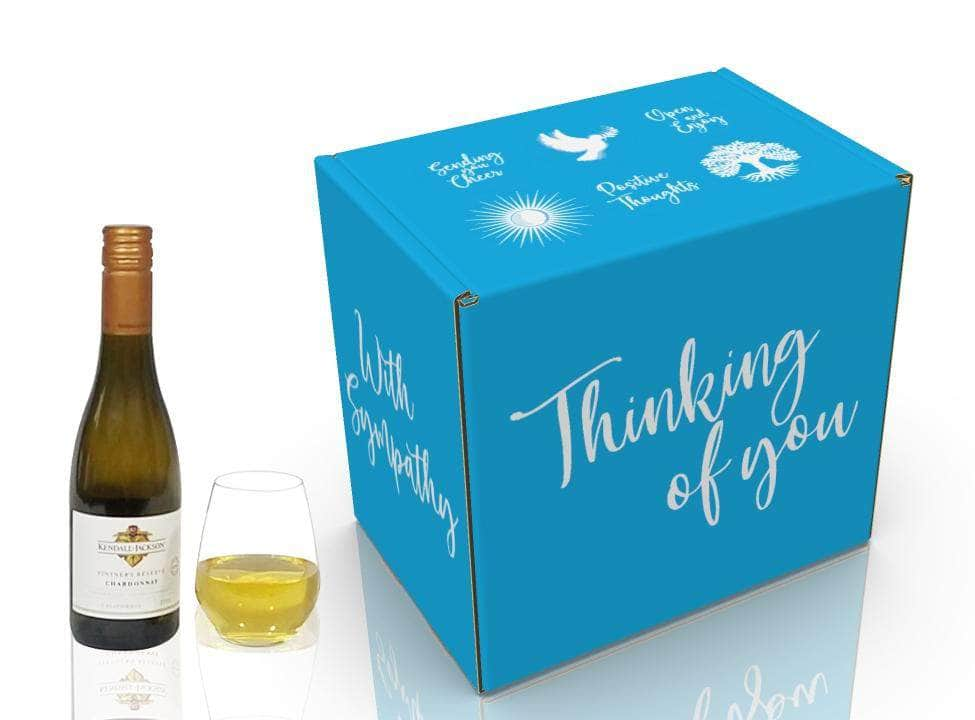 Thinking of You Wine Gift Basket