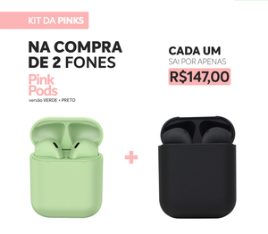 KIT PROMO - BE DIFFERENT  (2 PINK PODS)