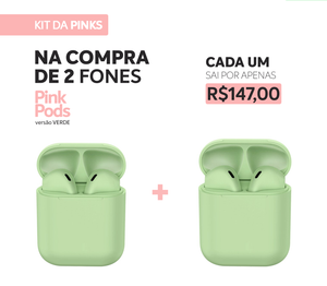 KIT PROMO - BE THE SAME (2 PINK PODS)