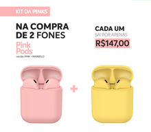 Carregar imagem no visualizador da galeria, KIT PROMO - BE DIFFERENT  (2 PINK PODS)