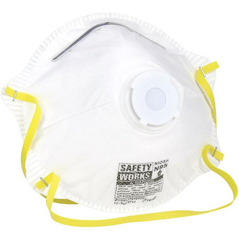 face mask with valve 3