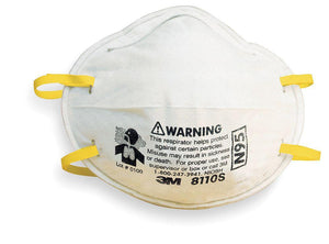 Face Mask - 3M N95 Model 8110S NIOSH - 20 Masks - Free Shipping