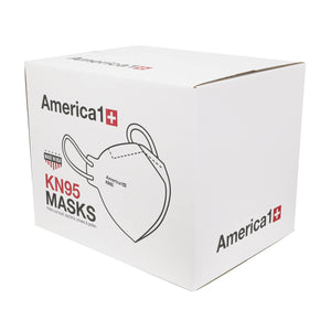 Face Mask - US Made KN95 Mask - Box Of 20 - $1.5 Each - Single Wrapped