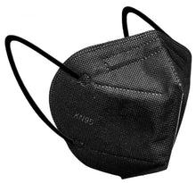 Load image into Gallery viewer, Face Mask - Black KN95 Disposable Face Mask With Earloops - High Filtration - 1 Mask - $1 Each
