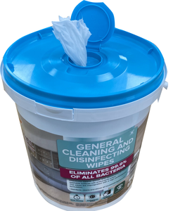 2400 Disinfecting wipes - 6 buckets of 400 wipes  - FREE SHIPPING -