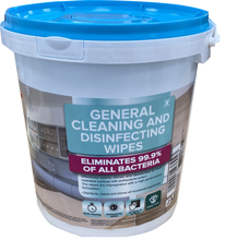 Load image into Gallery viewer, 300 Disinfecting wipes - 1 bucket of 300 wipes