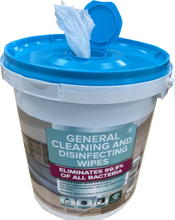 Load image into Gallery viewer, 2400 Disinfecting wipes - 6 buckets of 400 wipes  - FREE SHIPPING -