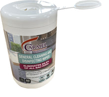 Load image into Gallery viewer, Vega/Carmel Disinfecting wipes - 1 canister of 80 all-purpose wipes