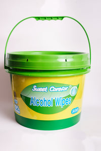 1 Bucket Of 800 Disinfecting wipes - 75% alcohol - 1 bucket of 800 wipes - FDA approved
