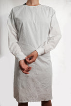 Load image into Gallery viewer, Isolation gown - WHITE - re-usable - cotton / poly mix - free shipping - FDA Level 2