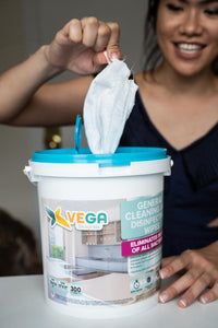 300 Disinfecting wipes - 1 bucket of 300 wipes