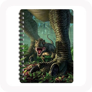 3D WEE REX NOTEBOOK