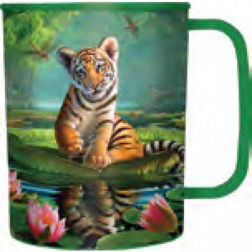 3D TIGER LILLY CUP