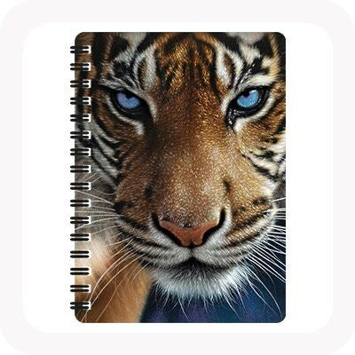 3D BLUE EYES NOTEBOOK