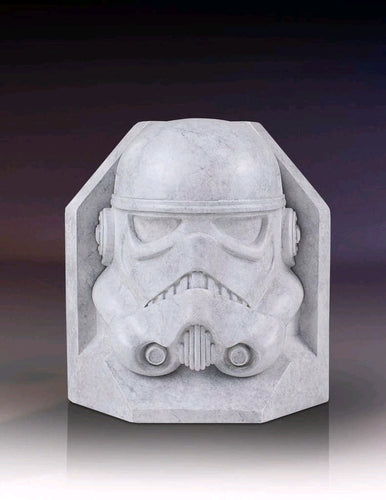 Star Wars - Stormtrooper Stoneworks Marble Bookend Limited Edition