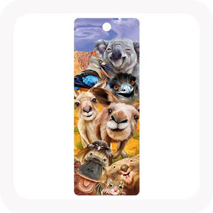3D ANIMAL SELFIE BOOKMARK