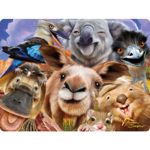 3D ANIMAL SELFIE POSTCARD