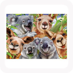3D KOALA AND KANGAROO SELFIE PICTURE / PLACEMAT