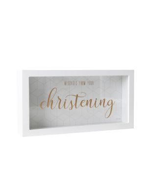Christening Message Box