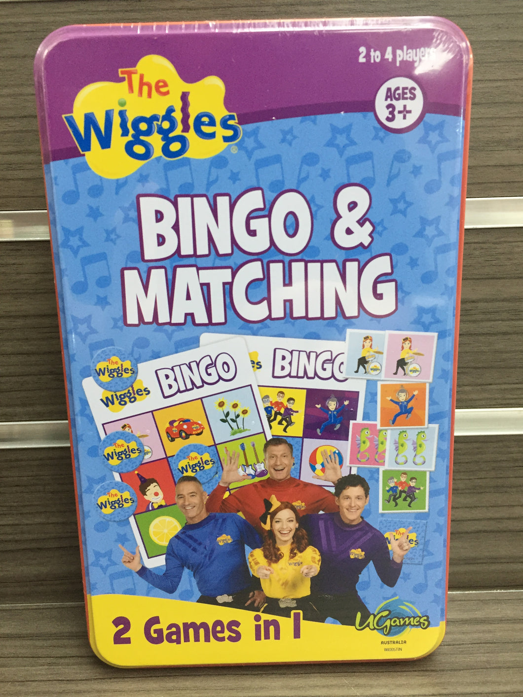 The Wiggles Bingo & Matching Tin