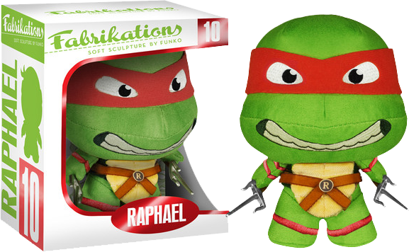 Teenage Mutant Ninja Turtles - Raphael Fabrikations Plush