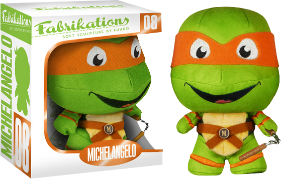 Teenage Mutant Ninja Turtles - Michelangelo Fabrikations Plush