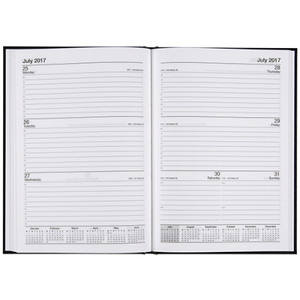 DIARY C/LAND A5 WEEK/OPEN 57CFY FINANCIAL YEAR