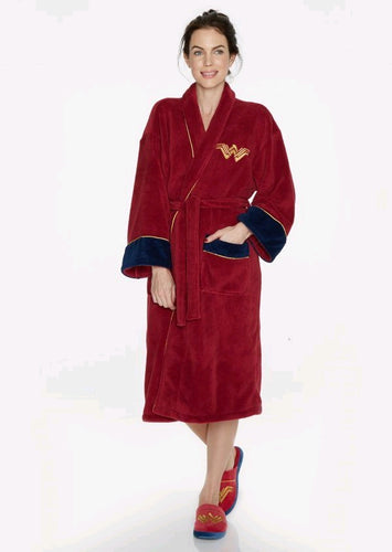 Batman v Superman: Dawn of Justice - Wonder Woman Fleece Bathrobe