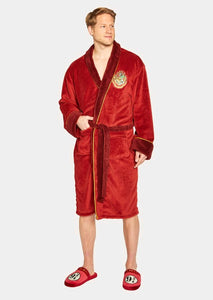 Harry Potter - Platform 9 3/4 Fleece Bathrobe