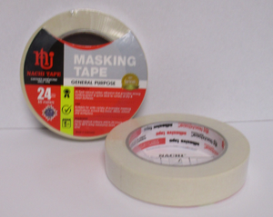 TAPE MASKING GENERAL PURPOSE 24mmx50m