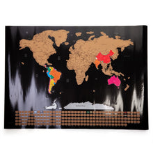 Scratch Me Away World Travel Map