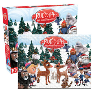 Rudolph the Red Nosed Reindeer Cast Puzzle 1,000 pieces