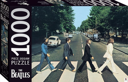 JIGSAW MINDBOGGLERS - BEATLES ABBEY ROAD 1000pce