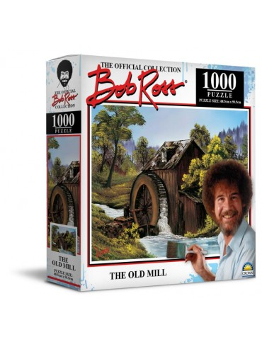 Bob Ross 1000Pce Puzzle Old Mill