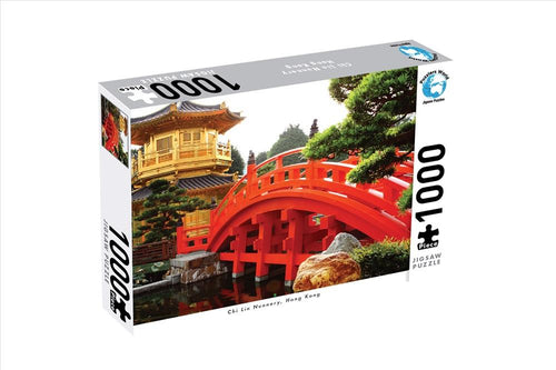 JIGSAW PUZZLERS WORLD - CHI LIN NUNNERY 1000pce