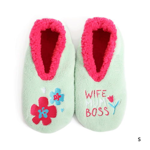 Slipper Mother's Day Duo Wife