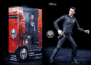 "Neca Terminator Genisys - T-1000 Police Disguise - 7 "" Action Figure"