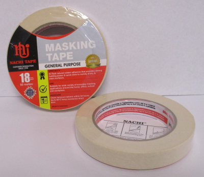 TAPE MASKING GENERAL PURPOSE 18mmx50m