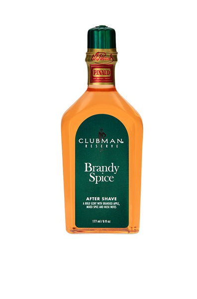 CLUBMAN RESERVE, BRANDY SPICE AFTER SHAVE LOTION, 6 OZ