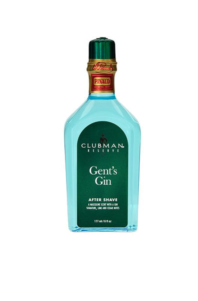 CLUBMAN RESERVE, GENT'S GIN AFTER SHAVE LOTION, 6oz