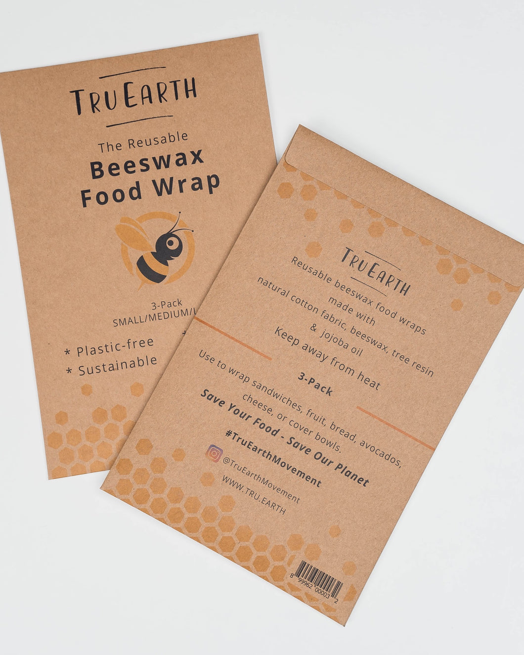 Tru earth Beeswax Food Wrap