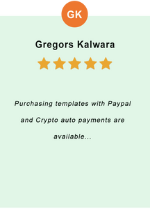 Gregors Kalwara - feedback of our valued customer